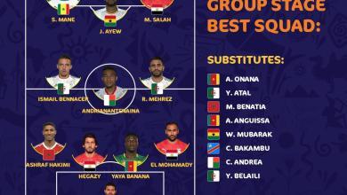 Photo of حضور قوي للاعبي مصر والجزائر في التشكيلة المثالية للدور الأول لأمم افريقيا
