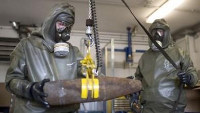 Photo of تدمير جميع الأسلحة الكيميائية في سوريا
