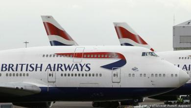 Photo of الخطوط الجوية البريطانية تستأنف رحلاتها للقاهرة