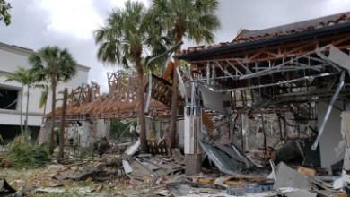 Photo of جرح 20 شخصًا في انفجار للغاز بمركز تجارى جنوب فلوريدا