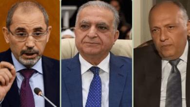 "Photo of وزراء خارجية العراق والأردن ومصر يناقشون في بغداد مرحلة ""ما بعد داعش"""