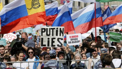 Photo of تراجع شعبية بوتين إلى أدنى مستوى بعد احتجاجات موسكو