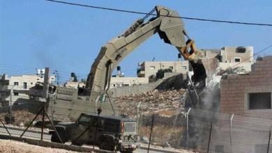 Photo of تقرير: إسرائيل تنفذ 43 عملية هدم يوليو الماضي