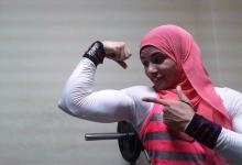 """Photo of """"خلود عصام"""".. امرأة عربية اقتحمت عالم كمال الأجسام فلقبوها بـ""""المرأة الحديدية"""""""