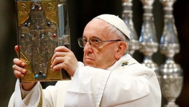 Photo of بابا الفاتيكان يدعو لعالم خال من السلاح النووي