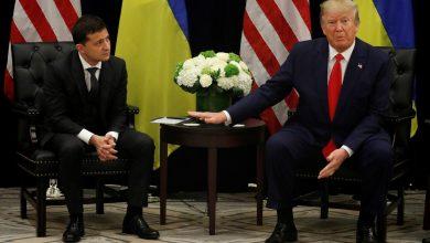 Photo of رئيس أوكرانيا يبرئ ترامب في أزمة الاتصال الهاتفي
