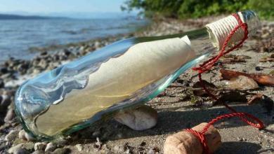 Photo of رسالة في زجاجة تنقذ عائلة أمريكية من الموت