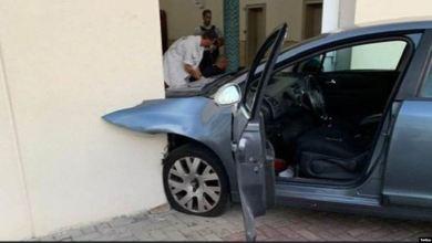 Photo of رجل يقتحم مسجدًا بسيارته في شرق فرنسا