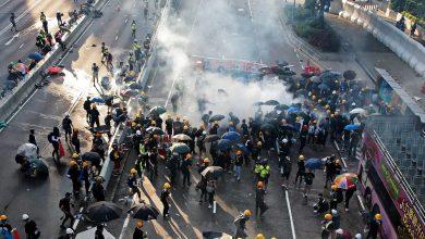 Photo of المحتجون بهونج كونج يطالبون ترامب بدعمهم