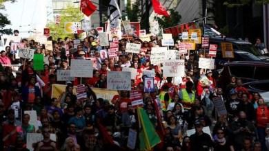 Photo of إلغاء مسيرة عيد العمال في نيوجيرسي بعد اشتباه في وجود متفجرات
