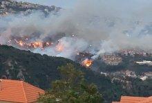 Photo of الأمطار تخفف حدة الحرائق في لبنان وطائرات دول الجوار تشارك في إخمادها