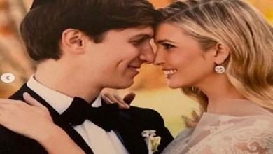 Photo of إيفانكا ترامب تحتفل بعيد زواجها العاشر بفستان زفاف (صور)