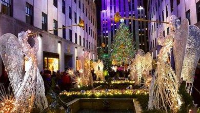 Photo of نيويورك تغلق شوارعها حول شجرة عيد الميلاد الشهيرة