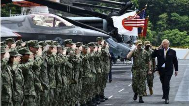 Photo of ترامب يطالب اليابان بمضاعفة ما تدفعه للقوات الأمريكية 4 مرات