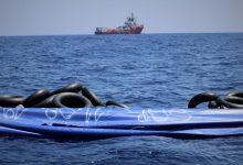 "Photo of ""أوشن فايكنج"" تنقذ 60 مهاجرًا قبالة السواحل الليبية"