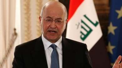 Photo of الرئيس العراقي يلوح بالاستقالة من منصبه