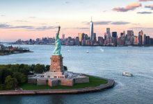 """Photo of ترامب: فكرة بناء جدار بحري حول نيويورك """"غبية"""""""