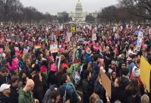 Photo of آلاف النساء في مسيرة بواشنطن ومدن أمريكية للدفاع عن حقوق المرأة