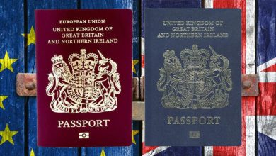 Photo of عودة جواز السفر البريطاني الأزرق لأول مرة منذ 30 عامًا