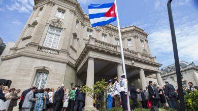 Photo of ضبط شخص أطلق النار على سفارة كوبا في واشنطن