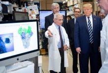 "Photo of ترامب يرى ارتفاع الإصابات ""أخبار عظيمة"" ويُبشّر بوجود 3 لقاحات"