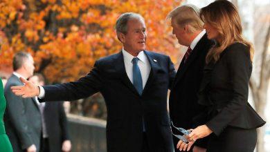 Photo of معظم الأمريكيين يؤيدون الاحتجاجات وجورج بوش ينصح ترامب