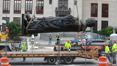 Photo of مدينة بأوهايو تعرض استضافة جميع التماثيل التي تمت إزالتها