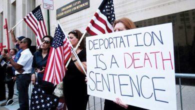 Photo of القضاء يؤيد ترحيل 1400 عراقي من أمريكا إلى بلدهم