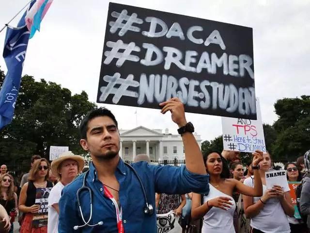 أمريكا تلغى برنامج DACA الذى يمنح المهاجرين الصغار الحق فى الإقامة