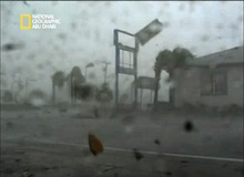 وجه الإعصار الحقيقي