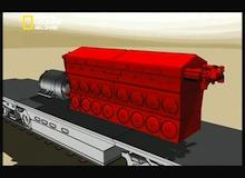 تفكيك هياكل عملاقة : تعديل القطار