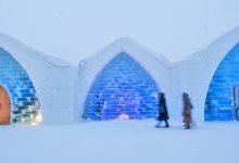 """صورة مقال : """"فندق الجليد"""" السحري  في السويد !"""