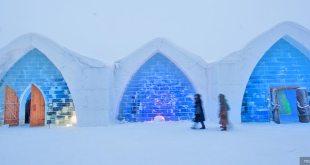 """مقال : """"فندق الجليد"""" السحري في السويد !"""