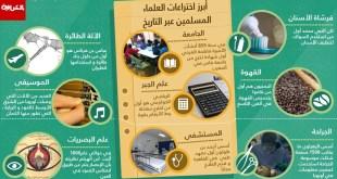 مقال - 9 إختراعات علماء مسلمين غيّرت عالمنا اليوم
