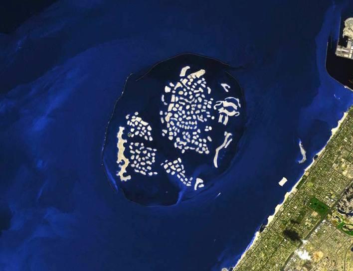 جزر العالم في دبي بالإمارات