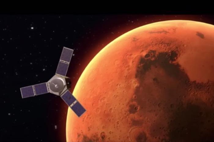 رحلة الأمل تتجه صوب المريخ و العالم العربي