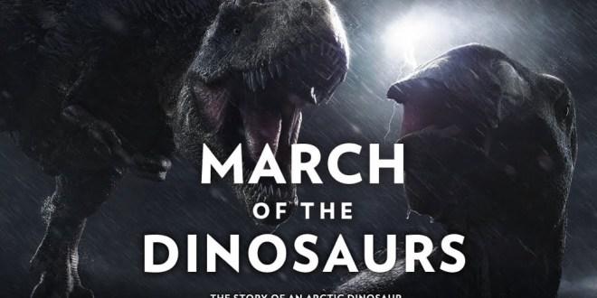 مترجم : مسيره الدينصورات - March of the Dinosaurs