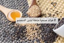 صورة مقال – 8 فوائد صحية مذهلة لبذور السمسم