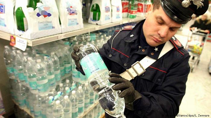 2003 : مياه ملوثة في إيطاليا