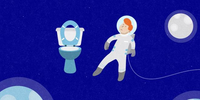 """مقال - هل سألت نفسك أين """"يقضي رواد الفضاء حاجتهم""""؟ إليك الجواب"""