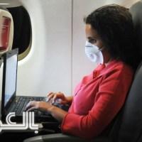 نصائح لتجنب الإصابة بالأمراض عند السفر بالطائرة