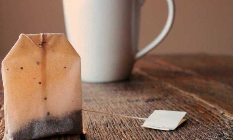 فوائد اكياس الشاي المستخدمة ؟