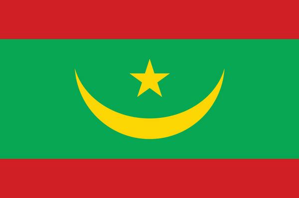 arabs countries flags - Mauritania