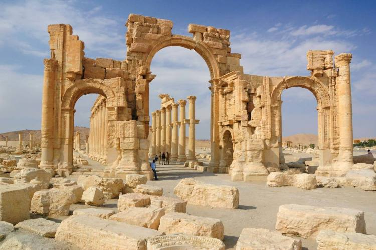 famous landmarks  in Syria