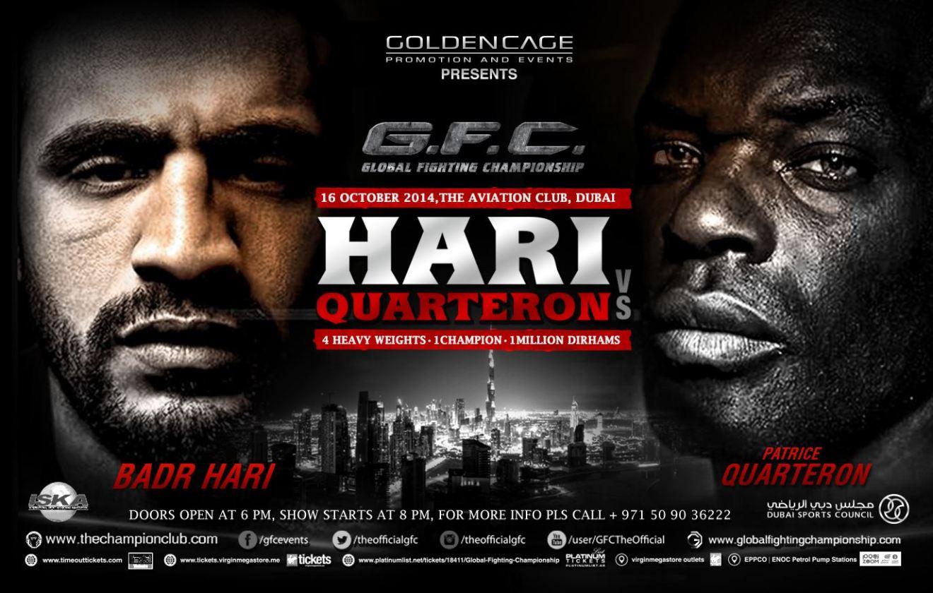gfc4-Badr Hari vs Patrice Quarterton
