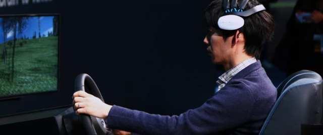 التفاعل مع السيارة عن طريق إشارات المخ