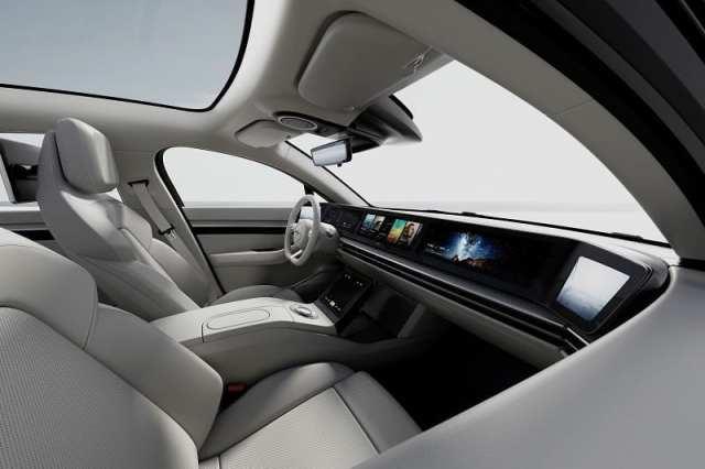 sony vision s interior 3 - سيارة سوني