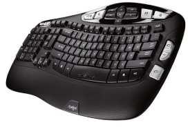Logitech K350 لوحات مفاتيح الكمبيوتر الارجونومك