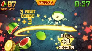 Fruit Ninja - أكثر 10 ألعاب تنزيلا على الموبايل