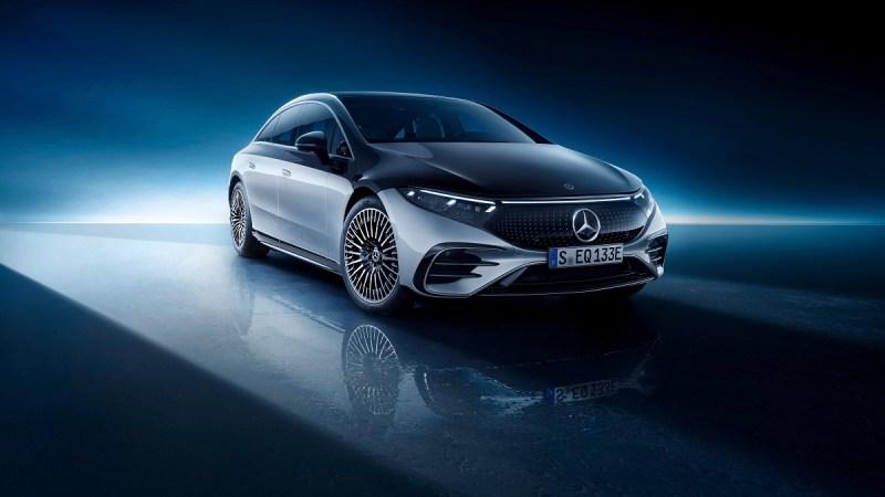الكشف الرسمي عن سيارة مرسيدس EQS الجديدة
